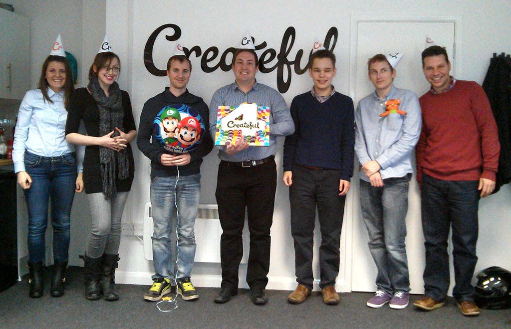 Createful Team - 4th Birthday