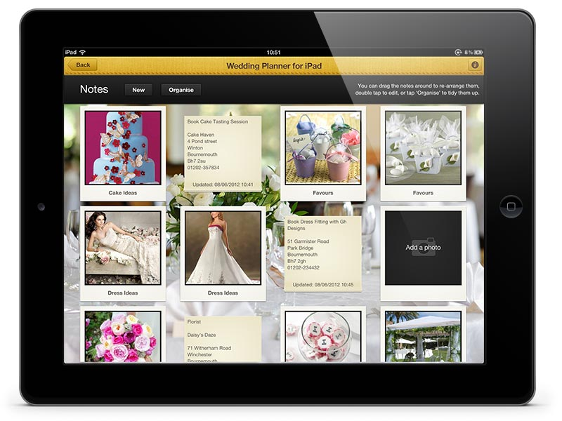Wedding Planner for iPad